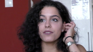 Small tits spanish brunette cunnilingus at the audition HD