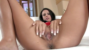 Tight babe softcore pussy fuck flashing HD