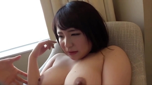 Real fucking together with hairy japanese BBW