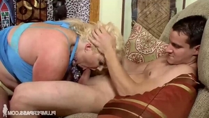 Big tits Zoey Andrews BBW fucking in the ass sex video