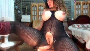 Huge tits spanish MILF gets a buzz out of raw sex