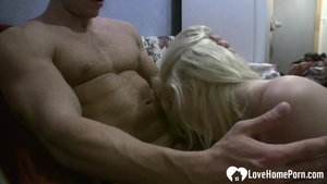 Slamming hard in company with wet amateur