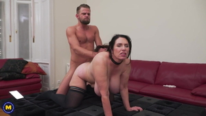 Plowing hard along with big tits BBW Josephine James