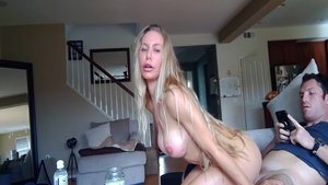 Very hot and huge tits Nicole Aniston creampied