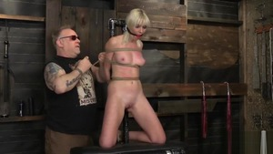 BDSM in the company of blonde Marie Mccray