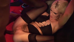 Big boobs lesbo finds pleasure in real sex