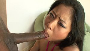 Chubby and beautiful Rico Strong interracial fucking